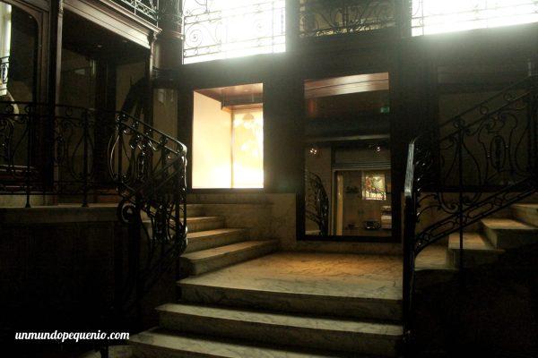 Antigua escalera del MIM