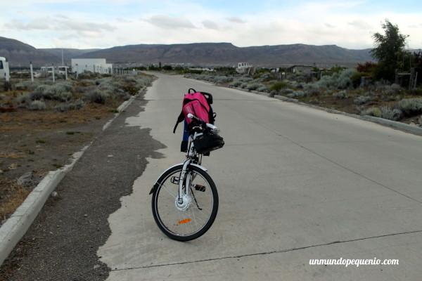 Paseo en bici por El Calafate