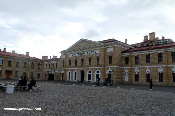 Casa de la Moneda en la Fortaleza de San Pedro y San Pablo