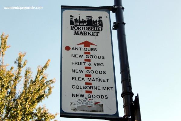 Cartel de Portobello Rd Market