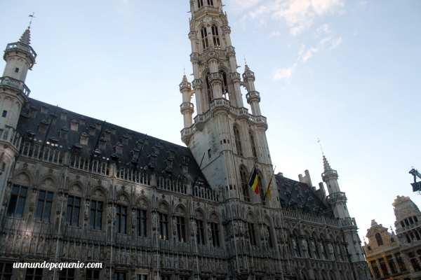 El ayuntamiento de Bruselas