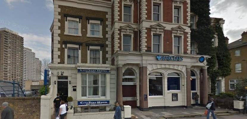 Fachada del CityStay Hotel Londres