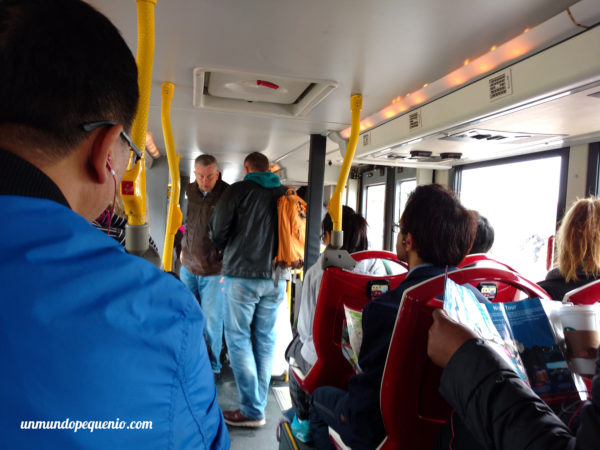 Interior del Big Bus Tours
