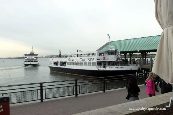 Ferry a la Estatua de la Libertad y Ellis Island