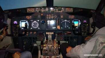 Cockpit del Boeing 737