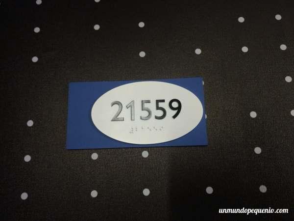 Número de habitación The Linq