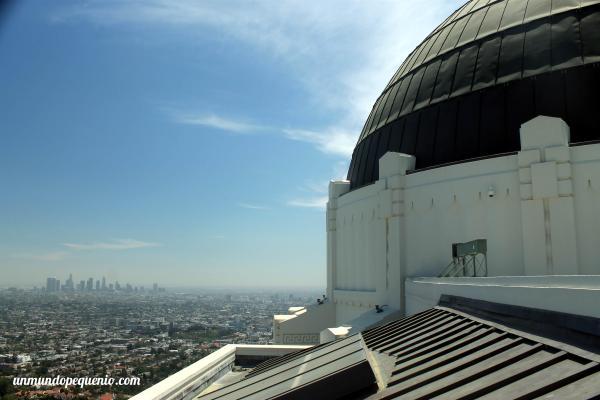 Vista de Los Angeles desde el observatorio