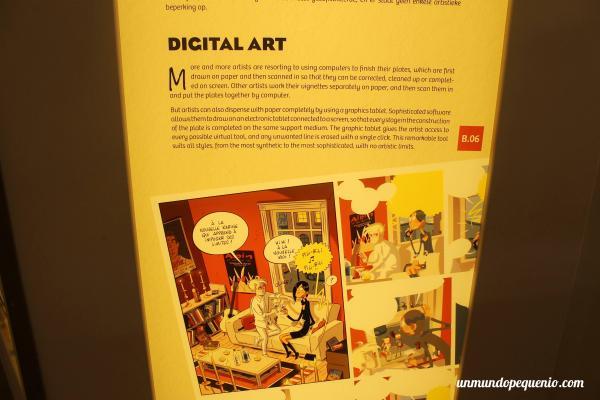 El arte digital del cómic