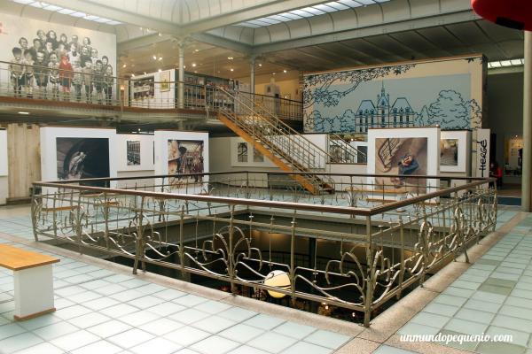 Primer piso del Centro Belga del cómic