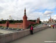 Yo con el Kremlin detrás
