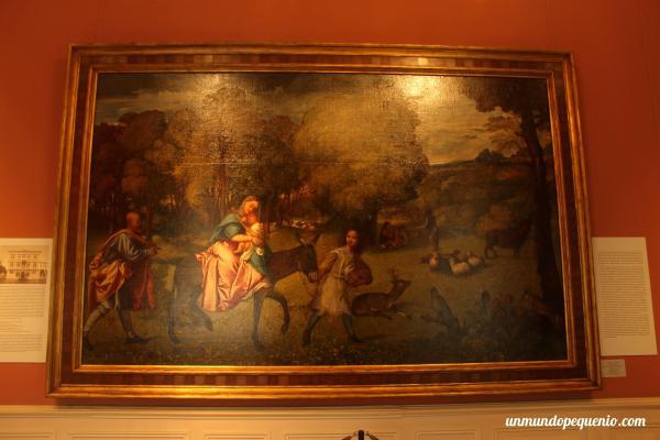 La Huida a Egipto (Tiziano)