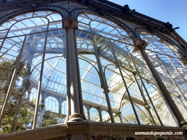 El Palacio de Cristal por fuera