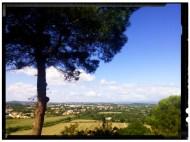 Vistas desde la iglesia de Narbonne