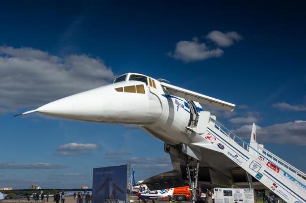 Ту-144: «взлеты» и «падения». Часть I | Необычный