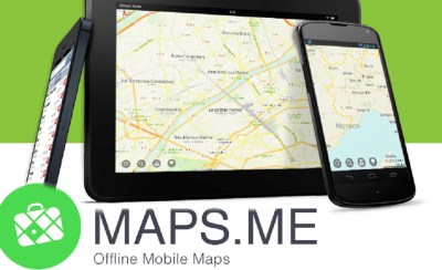 L'application maps.me