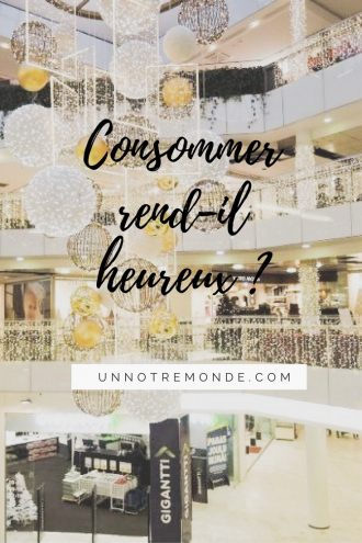 Consommer rend-il heureux ?