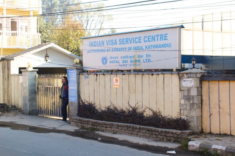 Indian Visa Service Center à Katmandou au Népal