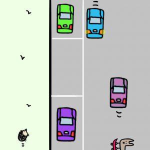 縦列駐車のコツ