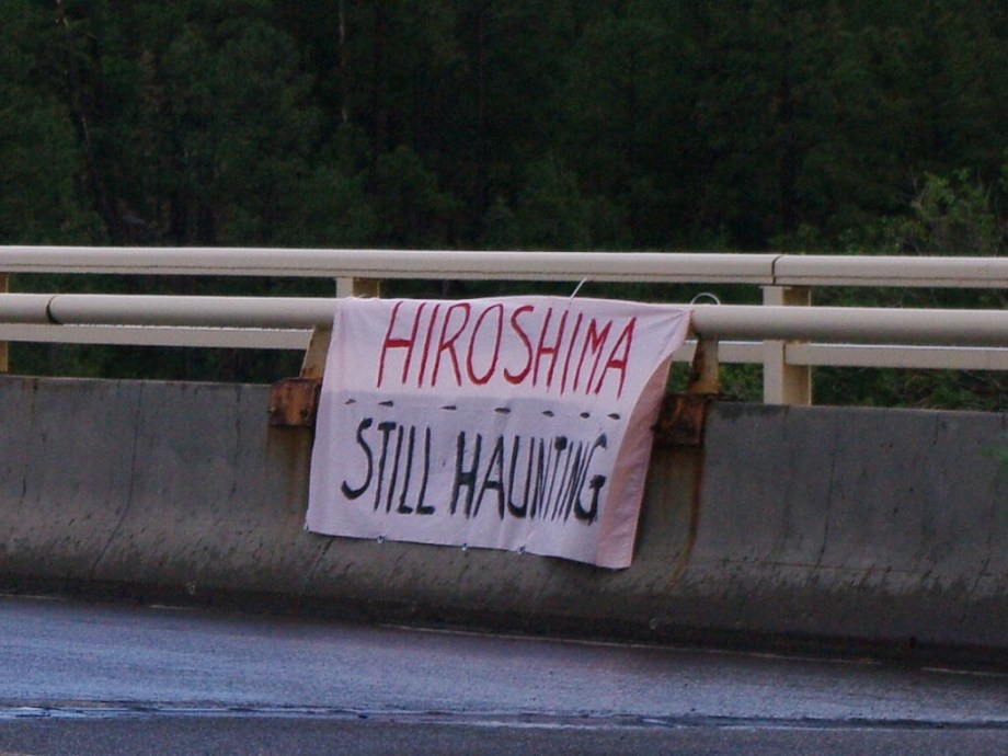 Banner: Hiroshima — Still Haunting