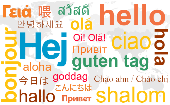 Image result for saying hello in different languages