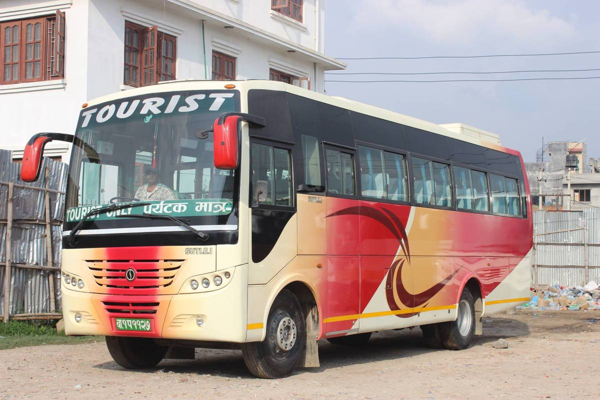 Contact Details Of Tourist Buses to Sauraha, Chitwan.