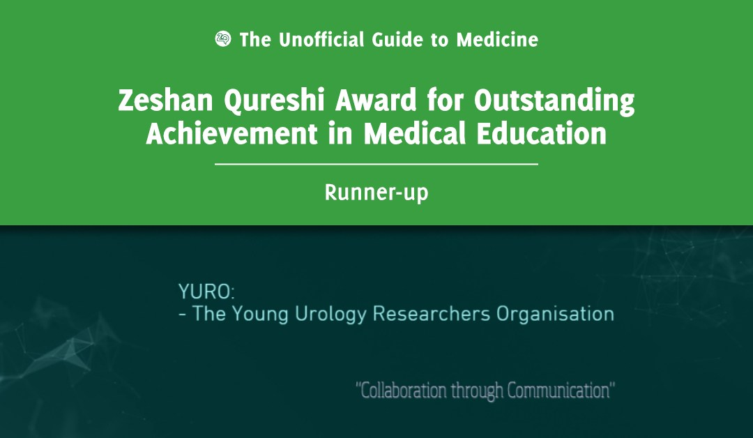 Zeshan Qureshi Award for Outstanding Achievement in Medical Education Runner-up: Todd Manning