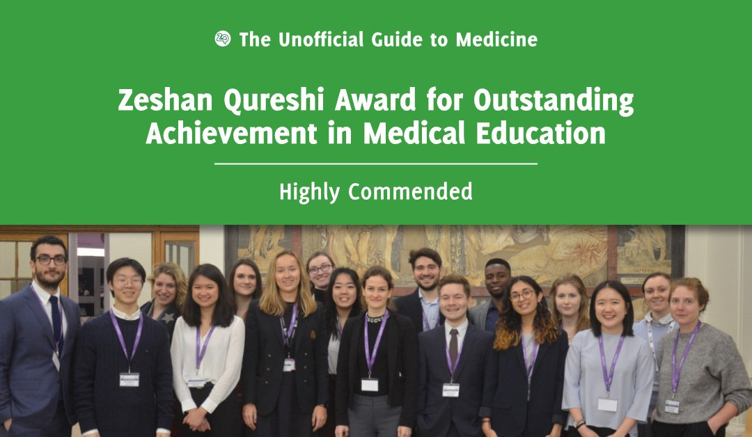 Zeshan Qureshi Award for Outstanding Achievement in Medical Education Highly Commended: George Choa