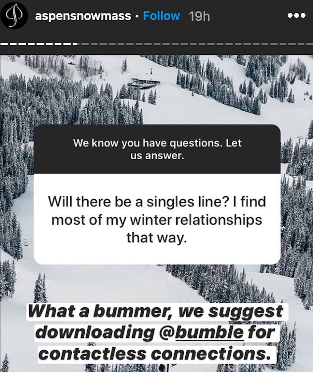 Aspen Snowmass Offers Relationship Advice For Singles