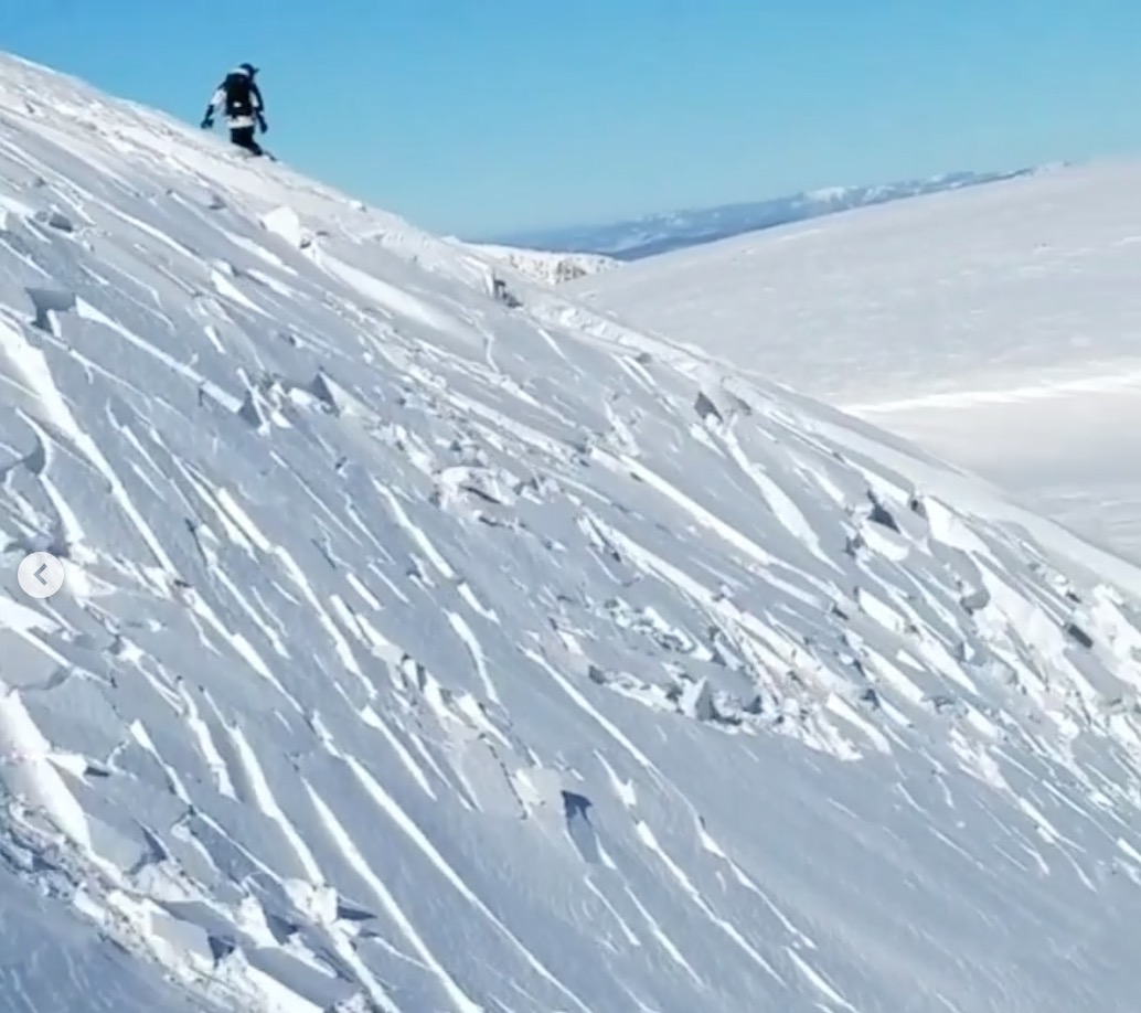 VIDEO: Snowboarder Triggers Large Avalanche Berthoud Pass, Colorado