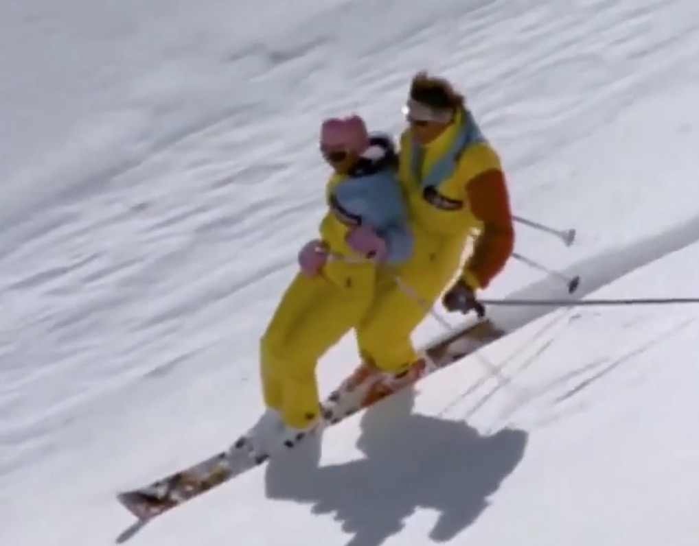 """Tandem Mono-Skiing"" The Ultimate Coulple's Ski Experience"