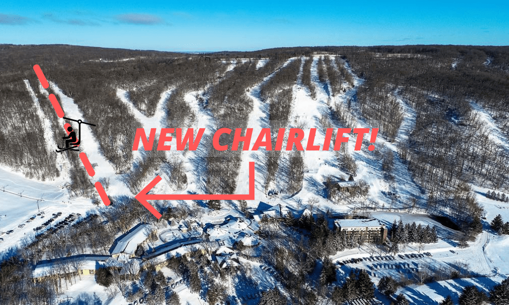 Wisconsin Ski Area Announces Plan For New Chair Lift
