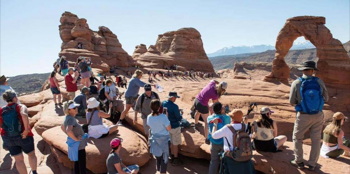 National Parks, Especially in Utah, Dealing With Massive Overcrowding This Summer