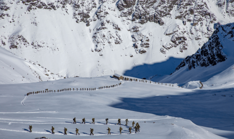 US 10th Mountain Division Completes South American Alpine Training