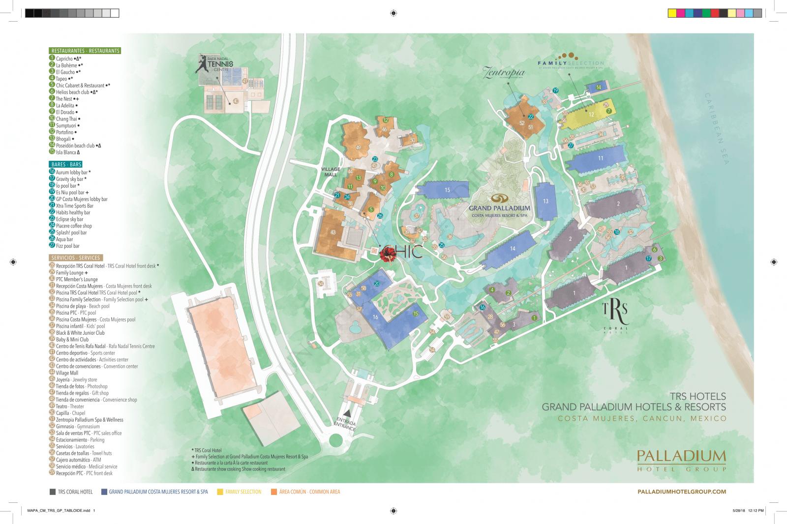 Riviera Maya Hotel Maps Pdf Wwwtopsimagescom