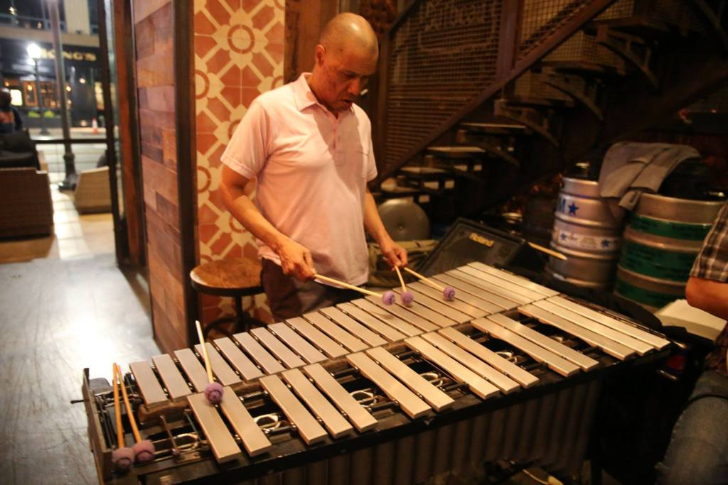 At the Vibraphone.