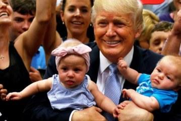 """Trump contra el aborto: """"Bebés son creación de Dios y tienen derecho a nacer"""""""