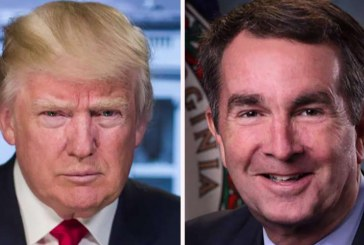 """El presidente Trump arremete contra el gobernador de Virginia: Los demócratas """"arrancan a los bebés del útero"""""""