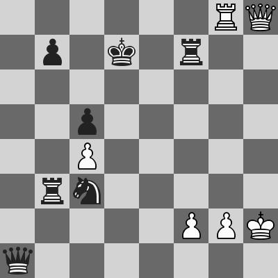 Caruana-Aronian dopo 42.Tg8
