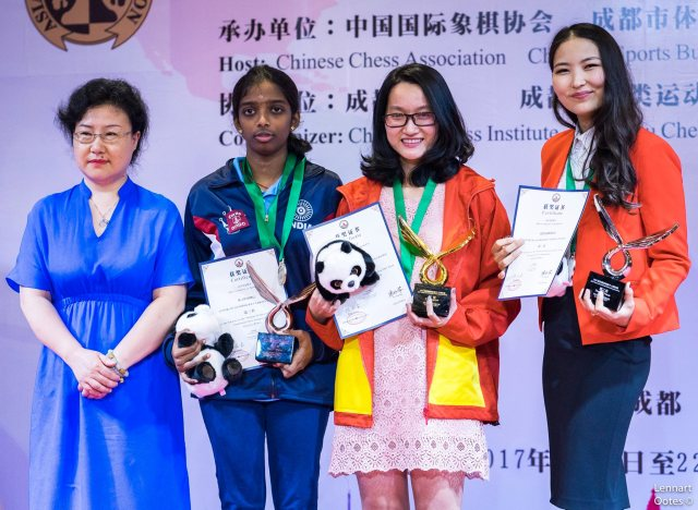 Camp. Ind. Asia 2017 - podio femm