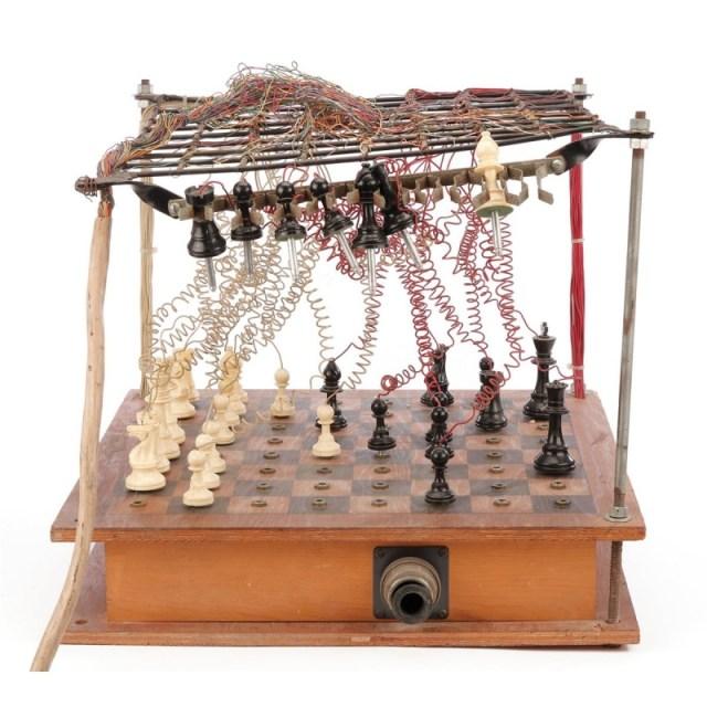 Doc Emmet chessboard
