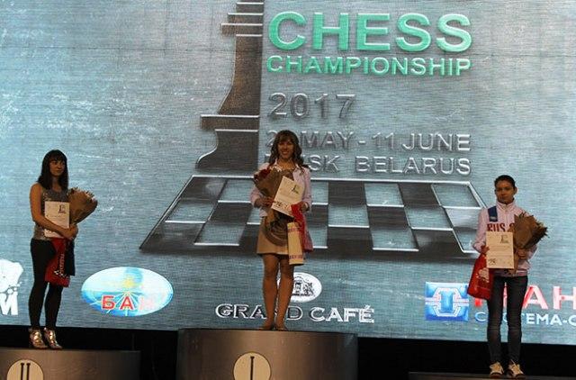 EICC2017 female podium