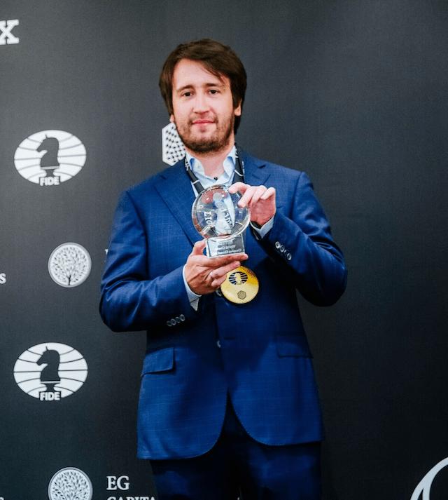 FIDE GP Ginevra - Radjabov winner