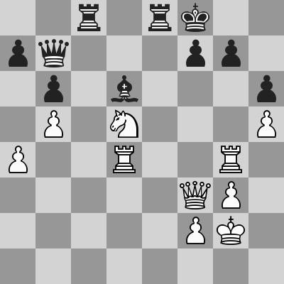 Radjabov-Eljanov dopo 37. ... Db7