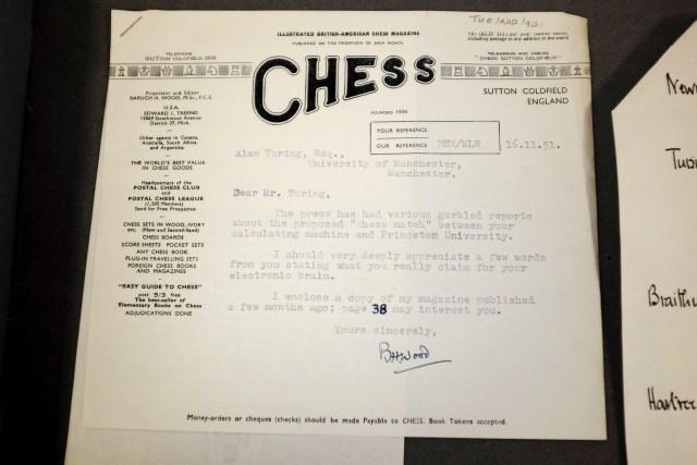 16-11-1951 Lettera di BHWood (Chess)