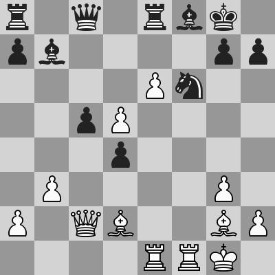 Aronian-Navara dopo 21. ... Cf6