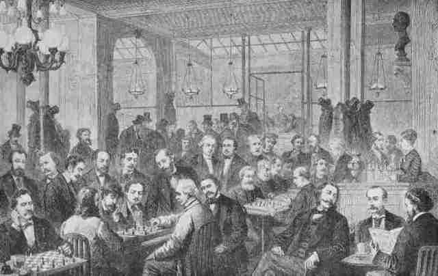 Café de la Régence di Parigi, 1874