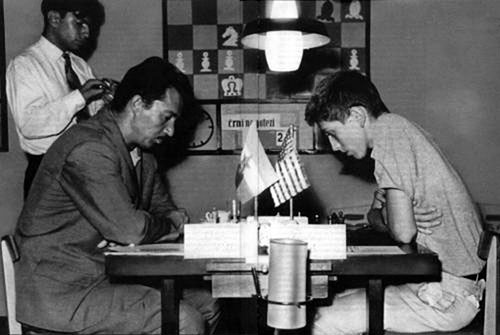Gligoric-vs-Bobby-Fischer-Interzonal-de-Portoroz--1958