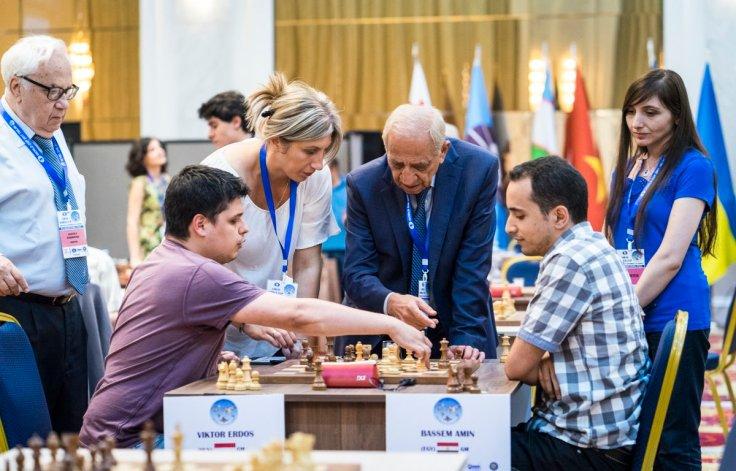 FIDE World CUP 2017 - R1 Amin gest 2 mins (Lennart Ootes)