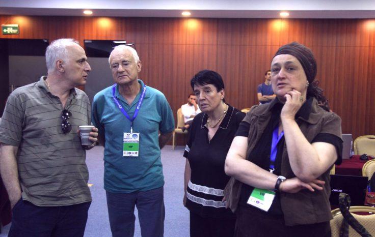 FIDE World CUP 2017 - R4 Sosonko,Chiburdanize,Gaprindashvili (Karlovich)