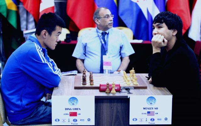 FIDE World CUP 2017 - R6 TB So-Ding Liren (Karlovich)